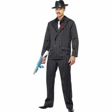 Al capone verkleedkleren zwart voor heren