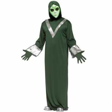 Alien verkleedverkleedkleren groen