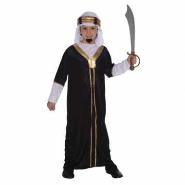 Arabieren verkleedkleren inclusief hoofddoek voor kinderen