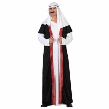 Arabische sjeik 1001 nacht verkleedkleren/gewaad voor heren