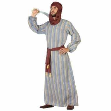 Arabische strijder ali verkleedkleren/gewaad voor heren