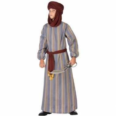 Arabische strijder ali verkleedkleren/gewaad voor jongens