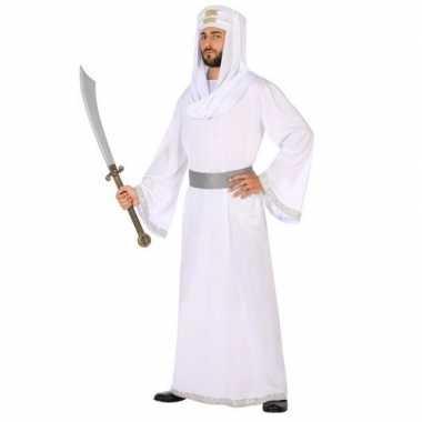 Arabische strijder hassan verkleedkleren/gewaad voor heren