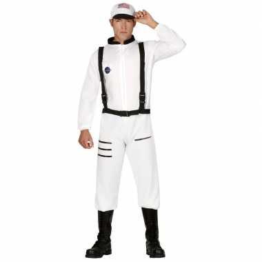 Astronauten/ruimtevaarders verkleed pak/verkleedkleren voor heren