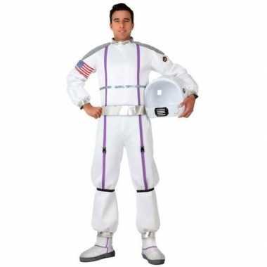 Astronauten verkleed pak/verkleedkleren voor heren