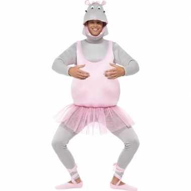 Ballerina nijlpaard verkleedkleren voor volwassenen