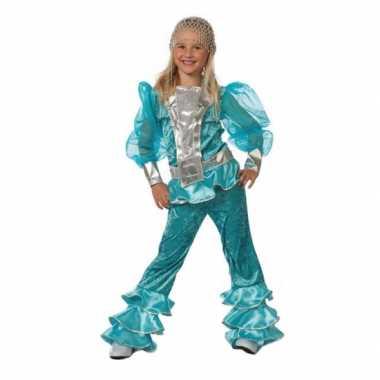 Blauw abba verkleedkleren voor kids