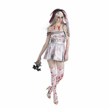 Bloederige bruid dames verkleedkleren