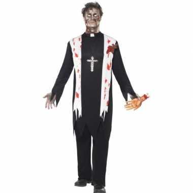 Bloederige horror priester verkleedkleren