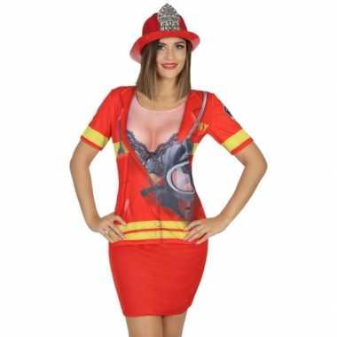 Brandweer verkleedkleren voor dames