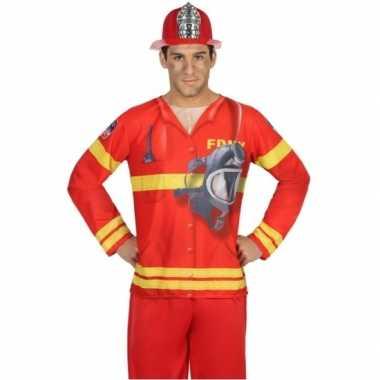 Brandweer verkleedkleren voor heren