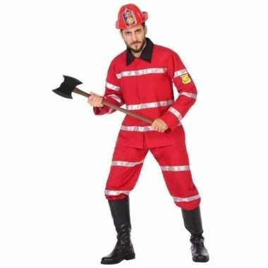 Brandweerman verkleedkleren voor heren
