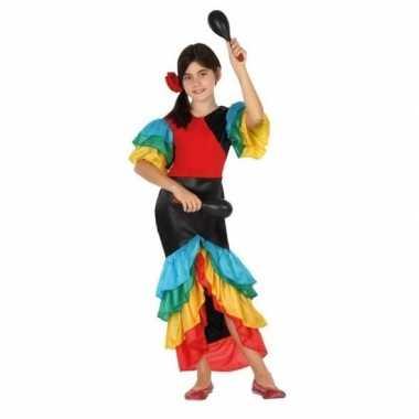 Braziliaanse samba/rumba danseres verkleedklerenvoor meisjes