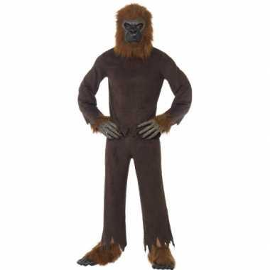 Canrvals verkleedkleren bruine aap