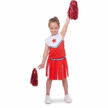 Cheerleader pakje verkleedkleren voor meisjes