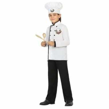 Chef kok verkleedkleren voor jongens