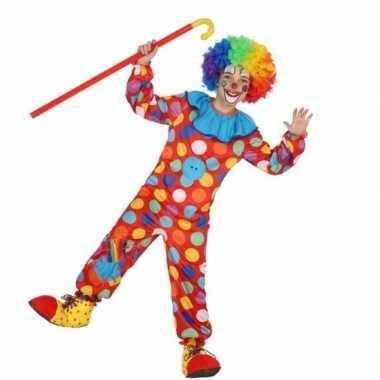 Clown dots verkleedkleren voor jongens