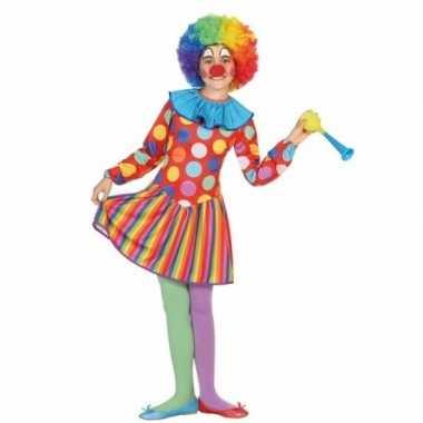 Clown dotty verkleedkleren voor meisjes