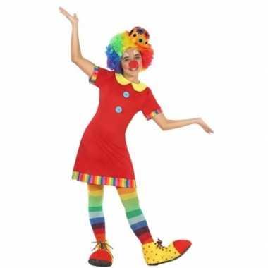 Clown floppy verkleedkleren voor meisjes
