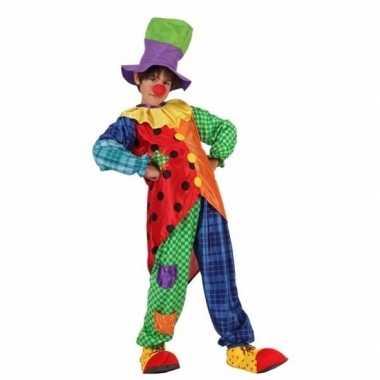 Clown stitches verkleedkleren voor jongens