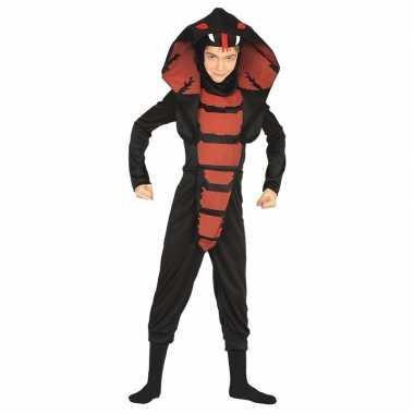 Cobra ninja slangen verkleedkleren voor jongens