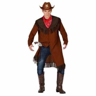 Cowboy/western jas verkleedkleren voor heren