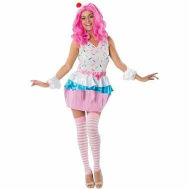 Cupcakejes verkleedkleren voor dames