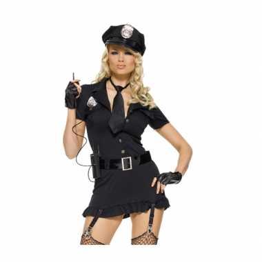 Dames verkleedkleren set sexy politie