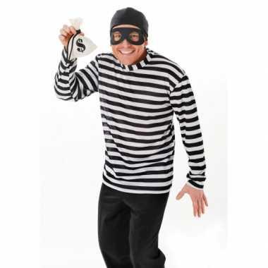 Dief of inbrekers verkleedkleren