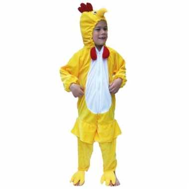 Dieren verkleedkleren kip voor kids
