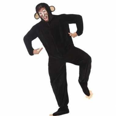 Dierenpak apen/chimpansee verkleedverkleedkleren voor volwassenen