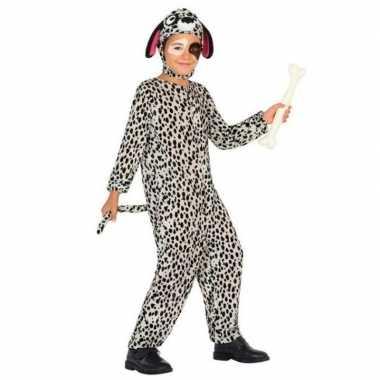 Dierenpak hond/honden verkleedkleren dalmatier voor kinderen