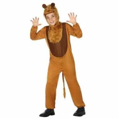 Dierenpak leeuw/leeuwen verkleedkleren voor kinderen
