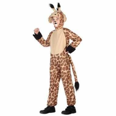 Dierenpak verkleedkleren giraffe voor kinderen