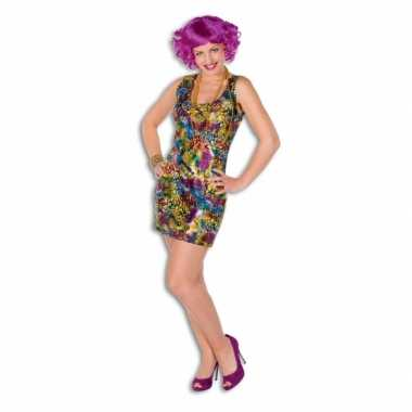 Disco verkleedkleren jurkje