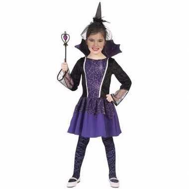 Dracula verkleedkleren jurkje paars voor meisjes
