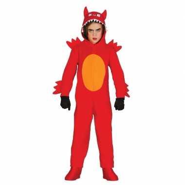 Duivel monster verkleedkleren voor kinderen