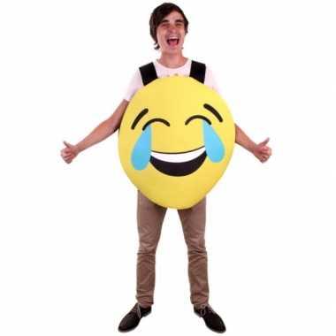 Emoticon verkleedkleren lachend voor volwassenen