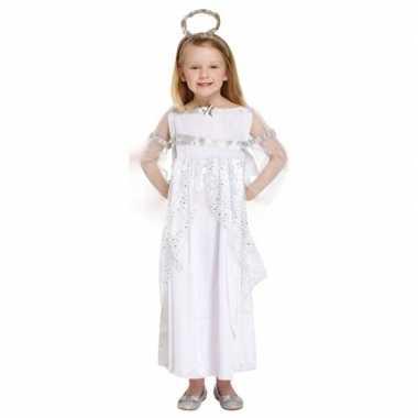 Engel kerst verkleedkleren verkleedkleren wit voor meisjes