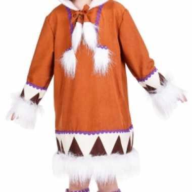 Eskimo verkleedkleren met laarshoezen voor meisjes