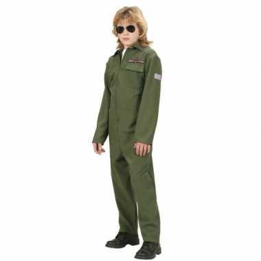 F 16 piloot verkleedkleren kinderen
