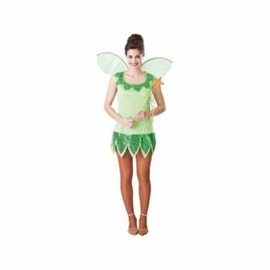 Fee verkleedkleren groen voor dames