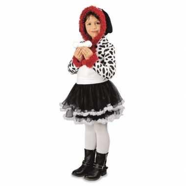 Feest dalmatier hond verkleedverkleedkleren voor meisjes