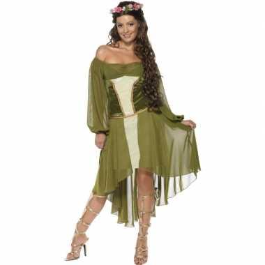 Feest middeleeuwse verkleedverkleedkleren voor dames