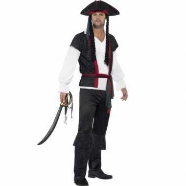 Feest piraat verkleedverkleedkleren voor heren