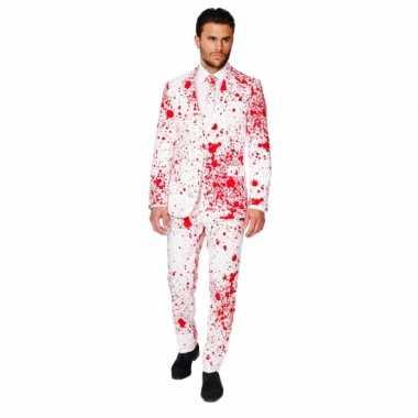 Feest verkleedkleren bloedspatten print