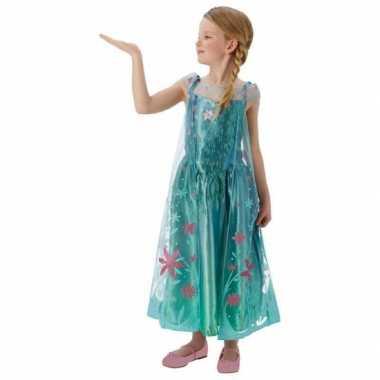 Feest verkleedkleren elsa frozen voor meisjes