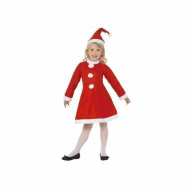 Feestelijke kerst verkleedkleren voor meisjes