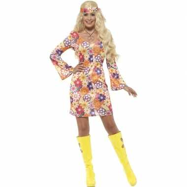Flower power hippie dames sixties verkleedkleren