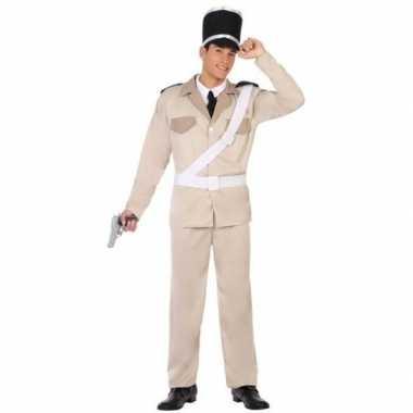 Franse gendarmerie/politie verkleed pak/verkleedkleren voor volwassen